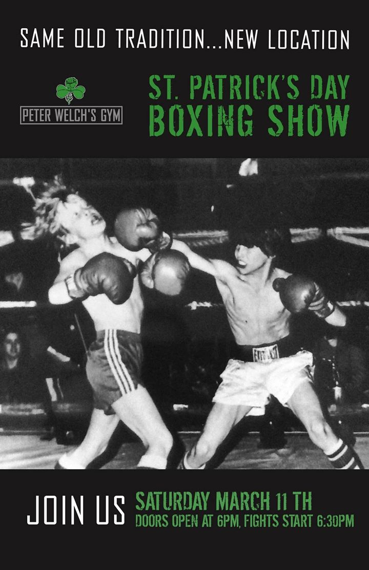 Saint Patrick's Day Boxing Show…